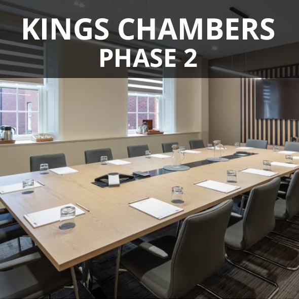 Kings Chambers meting room refurbishment.